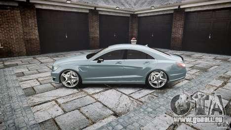 Mercedes Benz CLS 63 AMG 2012 für GTA 4 linke Ansicht