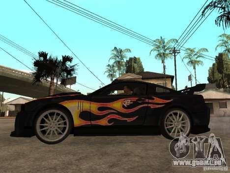 Ford Mustang GT Razor NFS MW pour GTA San Andreas laissé vue