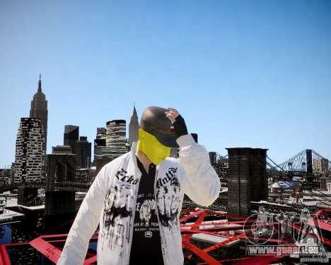 Niko The Mask für GTA 4 sechsten Screenshot