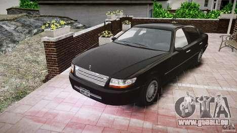 Washington FBI Car für GTA 4 Rückansicht