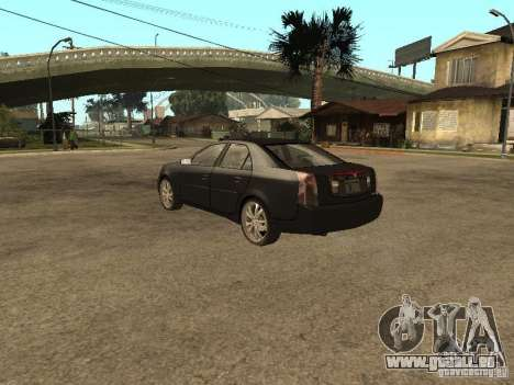 Cadillac CTS pour GTA San Andreas laissé vue