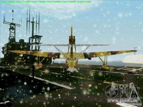 MBR-2 für GTA San Andreas Rückansicht