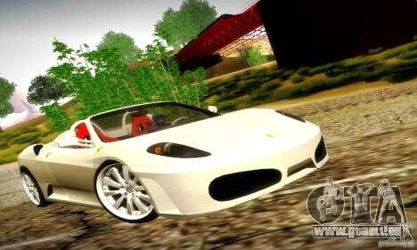 Ferrari F430 Spider pour GTA San Andreas vue de côté