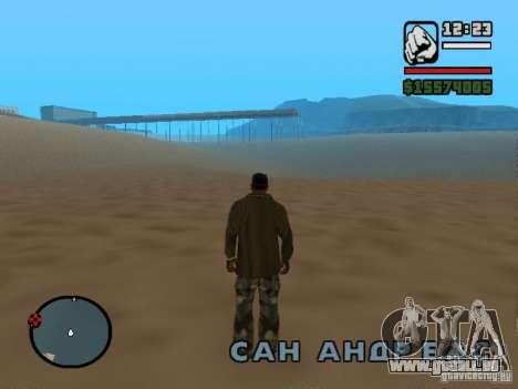 Il n'y a pas d'eau pour GTA San Andreas deuxième écran