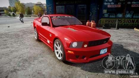 Saleen S281 Extreme - v1.2 für GTA 4 Rückansicht