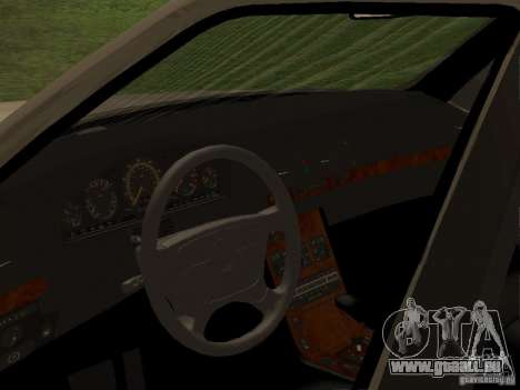 Mercedes-Benz 600SEL W140 pour GTA San Andreas vue de droite