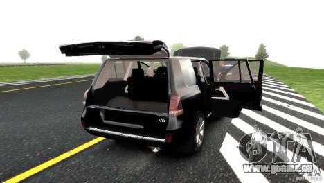 Toyota Land Cruiser 200 RESTALE pour GTA 4 roues
