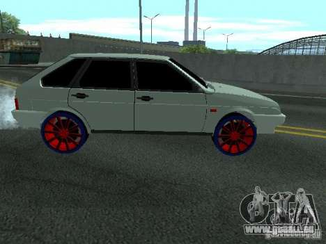 VAZ 2109 pour GTA San Andreas laissé vue