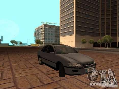 Opel Omega B 1998 v2 für GTA San Andreas Rückansicht