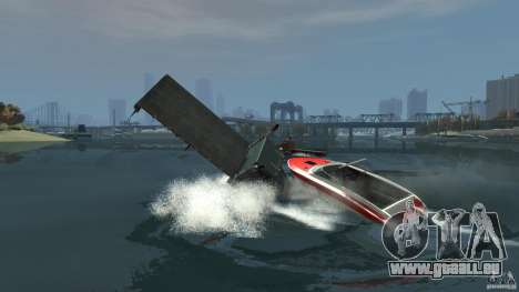 Biff boat pour GTA 4 est un côté