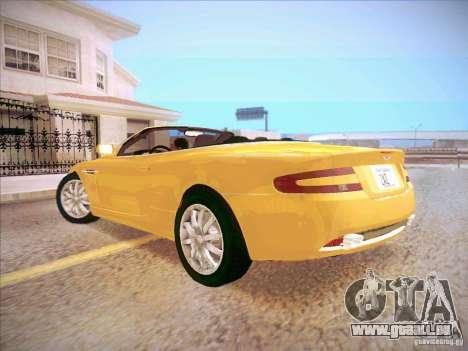 Aston Martin DB9 Volante v.1.0 für GTA San Andreas linke Ansicht