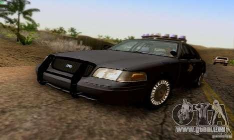 Ford Crown Victoria Kentucky Police für GTA San Andreas