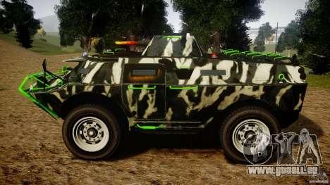 Monster APC für GTA 4 linke Ansicht