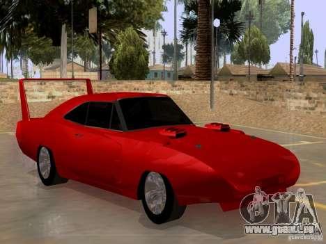 Dodge Charger Daytona 440 pour GTA San Andreas vue de droite
