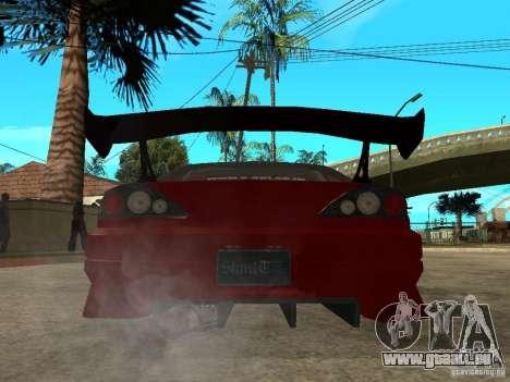 Nissan Silvia S-15 pour GTA San Andreas sur la vue arrière gauche