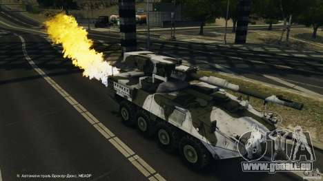 Stryker M1128 Mobile Gun System v1.0 pour GTA 4 Salon