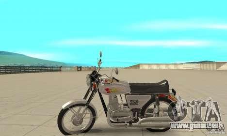 Jawa 350 für GTA San Andreas linke Ansicht