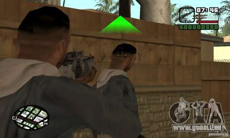 Franchi Special Purpose Automatic Shotgun 12 für GTA San Andreas dritten Screenshot