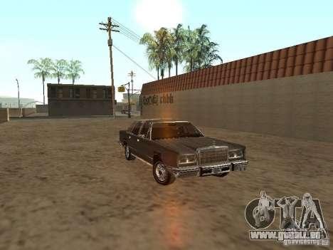Lincoln Town Car 1986 für GTA San Andreas Rückansicht