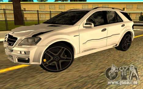 Mercedes-Benz ML63 AMG W165 Brabus pour GTA San Andreas salon