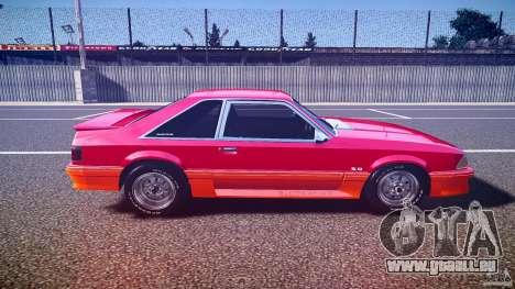 Ford Mustang GT 1993 Rims 2 pour GTA 4 est une vue de l'intérieur