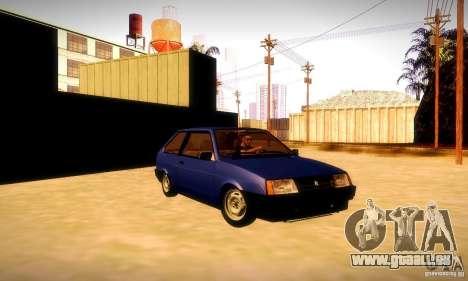 VAZ 2108 v2. 0 für GTA San Andreas