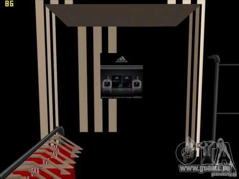 Vollständiger Ersatz der Binco Store Adidas für GTA San Andreas neunten Screenshot