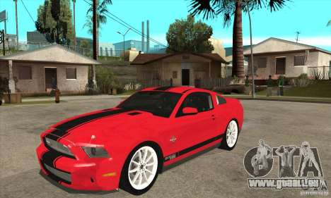 Ford Shelby GT500 Supersnake 2010 pour GTA San Andreas