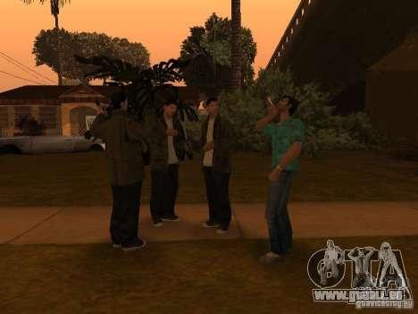 Los Santos Protagonists pour GTA San Andreas quatrième écran