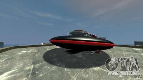 UFO neon ufo red für GTA 4