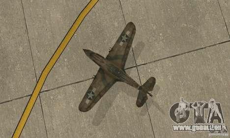 P-35 für GTA San Andreas Rückansicht