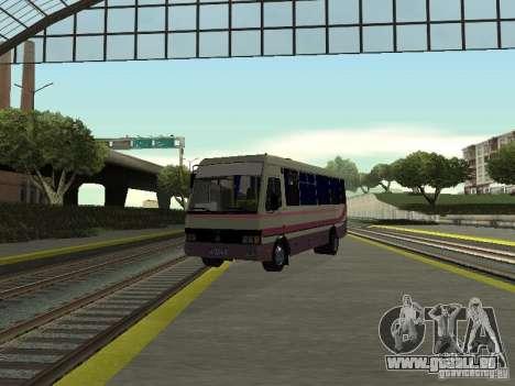 Bases touristiques A079 pour GTA San Andreas vue arrière