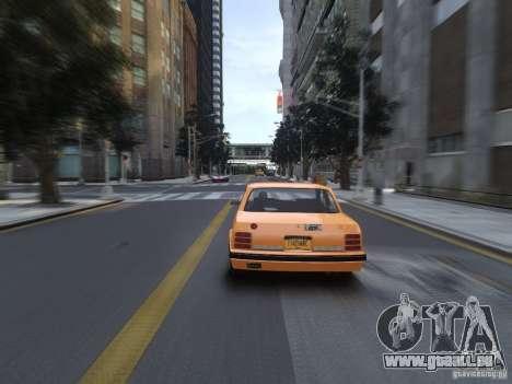 Oldsmobile Cutlass Ciera 1993 pour GTA 4 Vue arrière