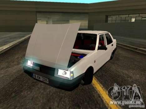 Tofas Sahin DRIFT für GTA San Andreas Rückansicht