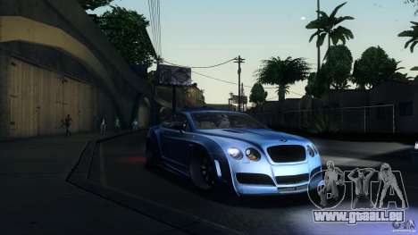 Bentley Continental GT Premier4509 2008 Final für GTA San Andreas linke Ansicht