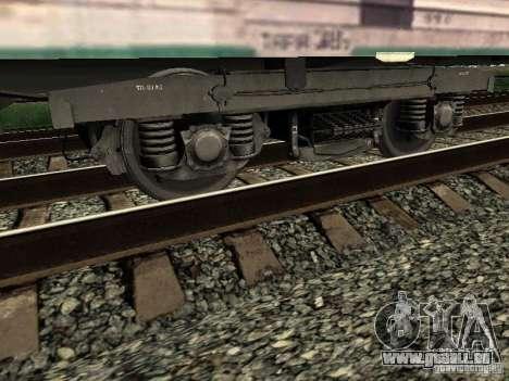 Refrežiratornyj wagon Dessau no 3 pour GTA San Andreas vue intérieure