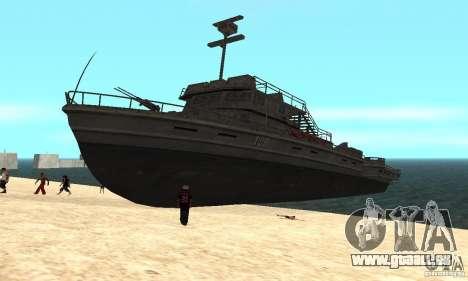 Bateau pour GTA San Andreas