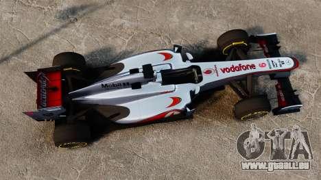 McLaren MP4-28 pour GTA 4 Vue arrière