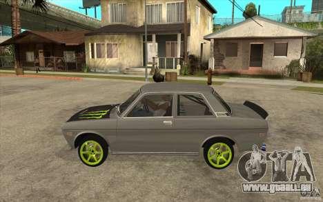 Datsun 510 Drift für GTA San Andreas linke Ansicht