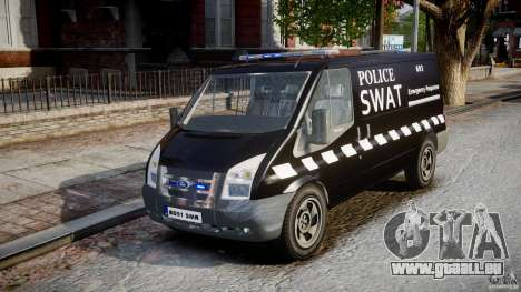 Ford Transit SWAT [ELS] für GTA 4