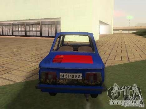 Hippie ZAZ pour GTA San Andreas sur la vue arrière gauche