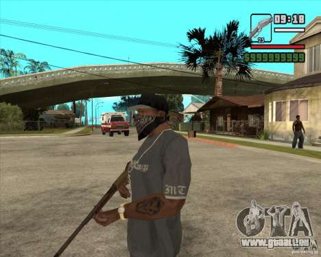 Carabine de chasse pour GTA San Andreas deuxième écran