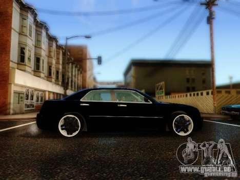 Chrysler 300C VIP pour GTA San Andreas vue intérieure