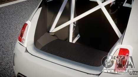 Fiat 500 Abarth für GTA 4 Innen