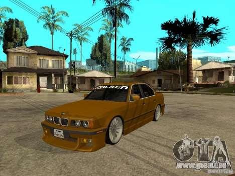 BMW e34 Drift Body für GTA San Andreas
