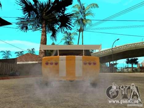 VAZ 2101 Globus pour GTA San Andreas sur la vue arrière gauche