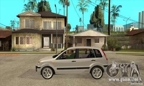 Ford Fusion 2009 pour GTA San Andreas laissé vue