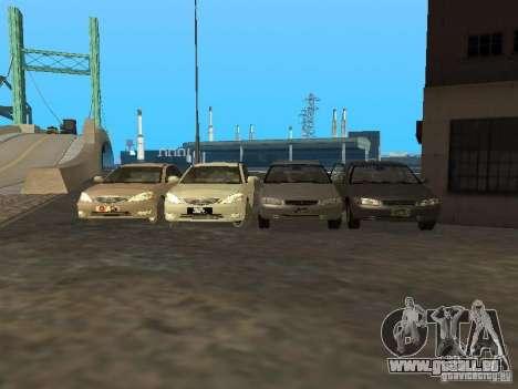Toyota Camry 2003 pour GTA San Andreas vue de côté