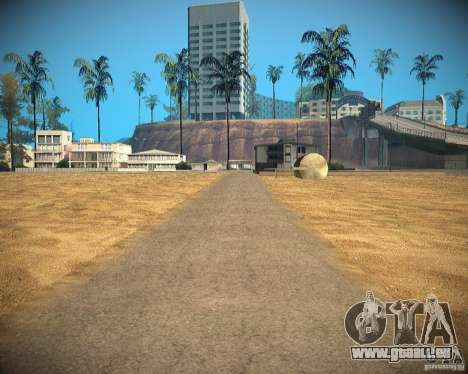 New textures beach of Santa Maria pour GTA San Andreas dixième écran