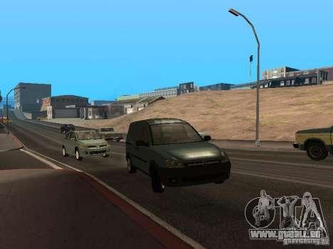 Opel Combo 2005 pour GTA San Andreas laissé vue